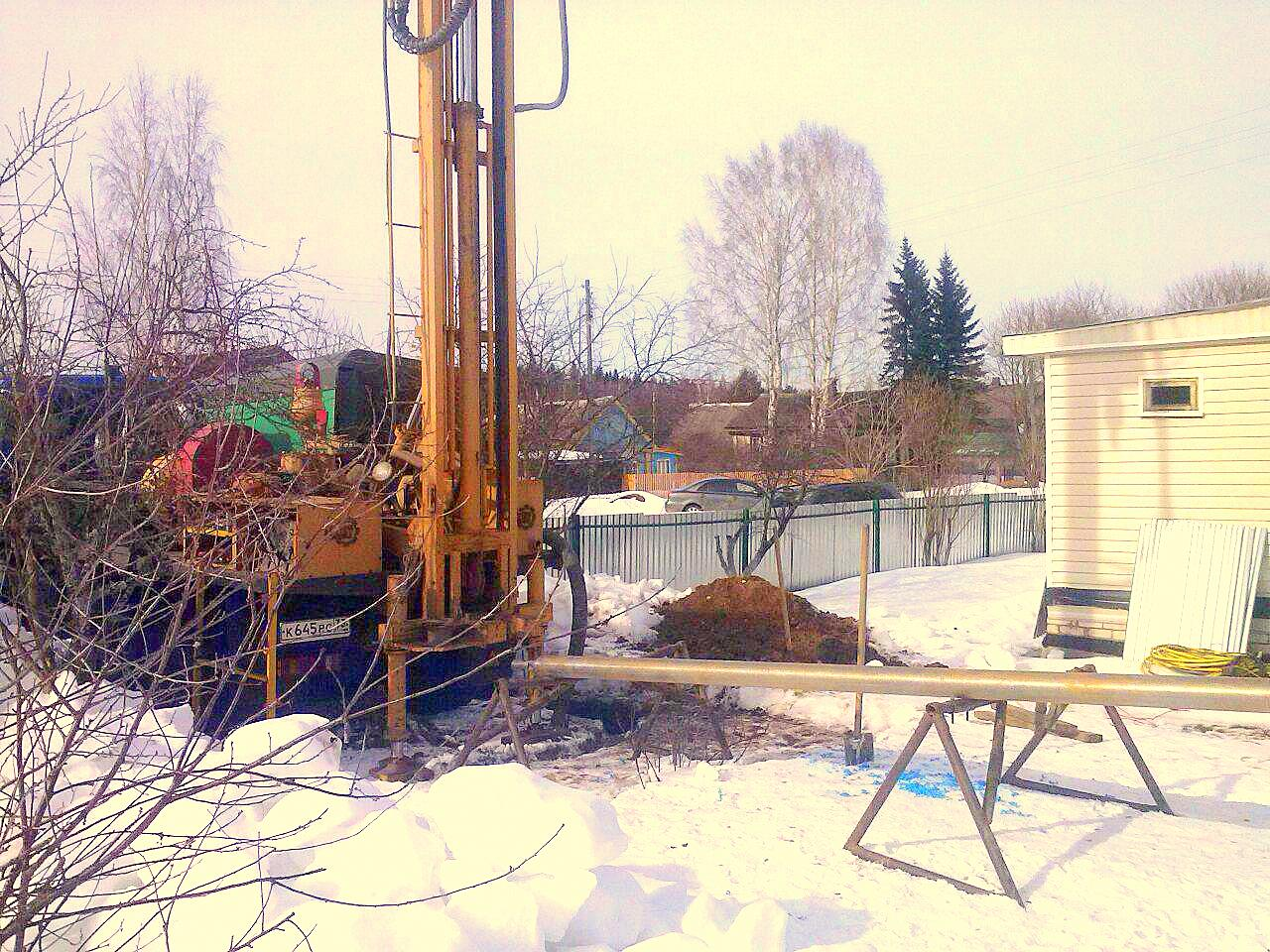 Бурят ли скважины на воду зимой?